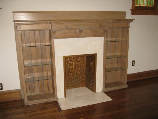 Faux_fireplace_brass_interior
